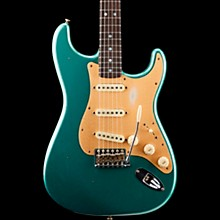 Big Head Stratocaster Journeyman Rosewood Fingerboard Limited Edition Electric Guitar Faded Aged Sherwood Green Metallic