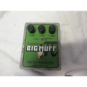 used electro harmonix big muff bass distortion bass effect pedal guitar center. Black Bedroom Furniture Sets. Home Design Ideas