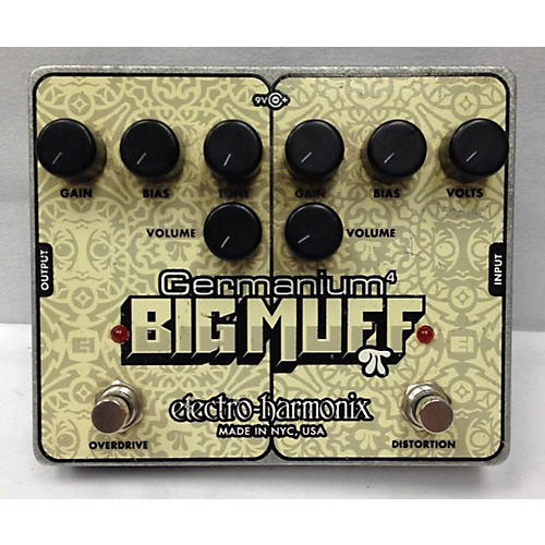 Electro-Harmonix Big Muff Germanium 4 Overdrive And Distortion Effect Pedal