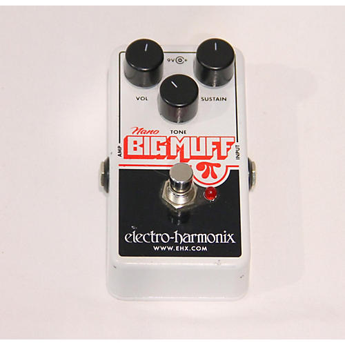 used electro harmonix big muff nano effect pedal guitar center. Black Bedroom Furniture Sets. Home Design Ideas