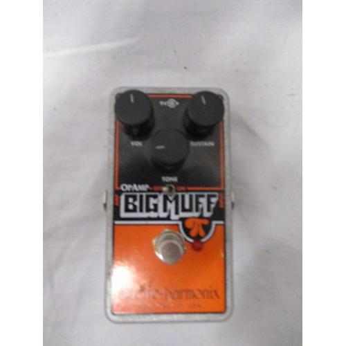 used electro harmonix big muff op amp effect pedal guitar center
