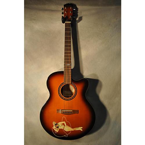 used fender big tex acoustic electric guitar guitar center. Black Bedroom Furniture Sets. Home Design Ideas