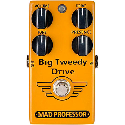 Mad Professor Big Tweedy Drive Overdrive Effects Pedal