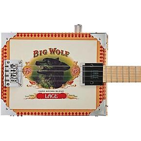 lace big wolf acoustic electric cigar box guitar guitar center. Black Bedroom Furniture Sets. Home Design Ideas
