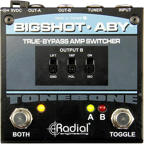 Radial Engineering BigShot ABY True Bypass Switch Pedal
