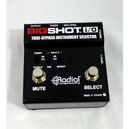 Radial Engineering Bigshot I/O True Bypass Selector Pedal