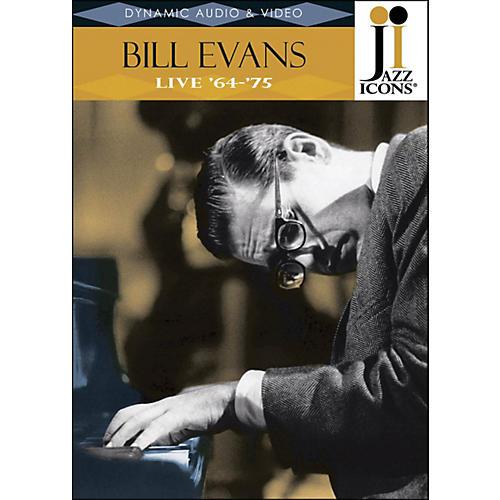 Hal Leonard Bill Evans Live In '64 & '75 Jazz Icons DVD