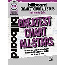 Alfred Billboard Greatest Chart All-Stars Instrumental Solos Flute Book & CD Level 2-3