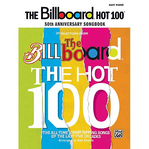 Alfred Billboard Magazine Hot 100 50th Anniversary Songbook Easy Piano