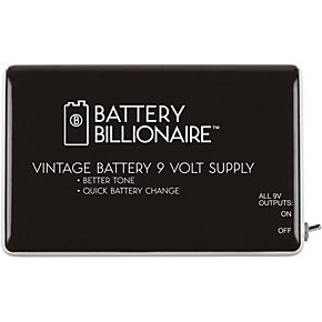 danelectro billionaire battery effects pedal power supply guitar center. Black Bedroom Furniture Sets. Home Design Ideas