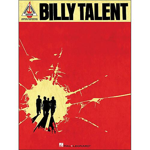 Hal Leonard Billy Talent Tab Book