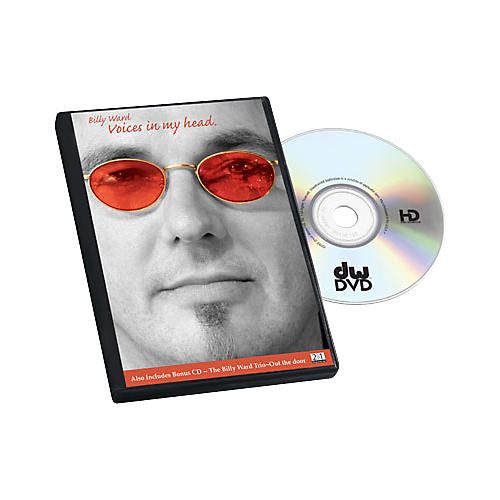 The Drum Channel Billy Ward - Voices In My Head DVD/CD