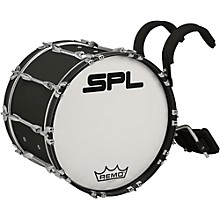 Sound Percussion Labs Birch Marching Bass Drum with Carrier Level 1 20 x 14 Black