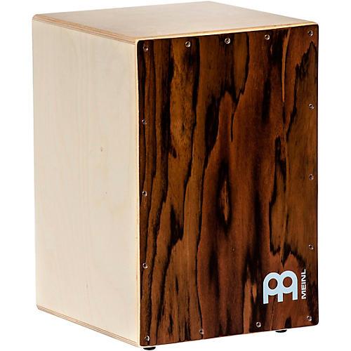 Meinl Birch Wood Cafe Snare Cajon with Almond Eucalyptus Finish