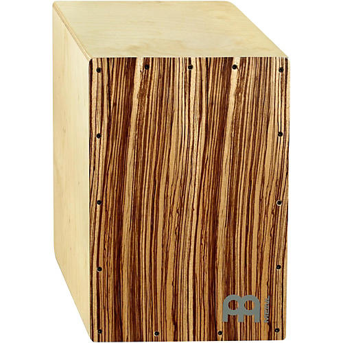 Meinl Birchwood Cajon with Exotic Zebrano Frontplate