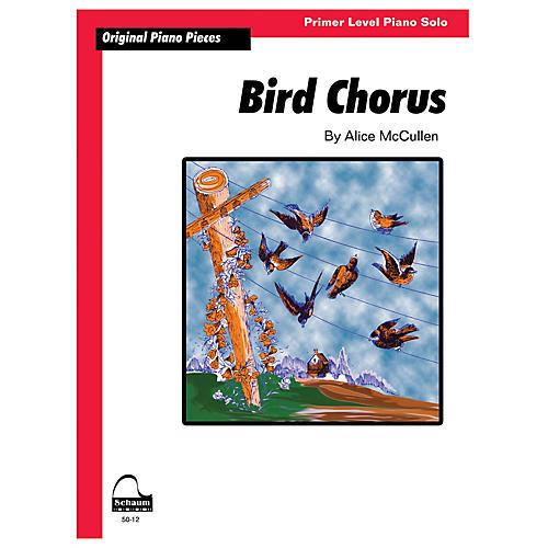 SCHAUM Bird Chorus Educational Piano Series Softcover