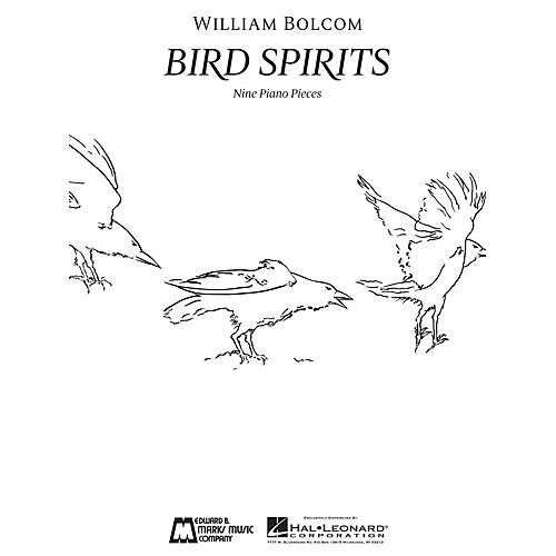Edward B. Marks Music Company Bird Spirits (Nine Piano Pieces First Edition) E.B. Marks Series Softcover Composed by William Bolcom