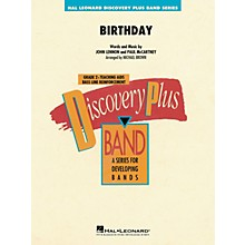 Hal Leonard Birthday Concert Band Level 2 by The Beatles arranged by Michael Brown