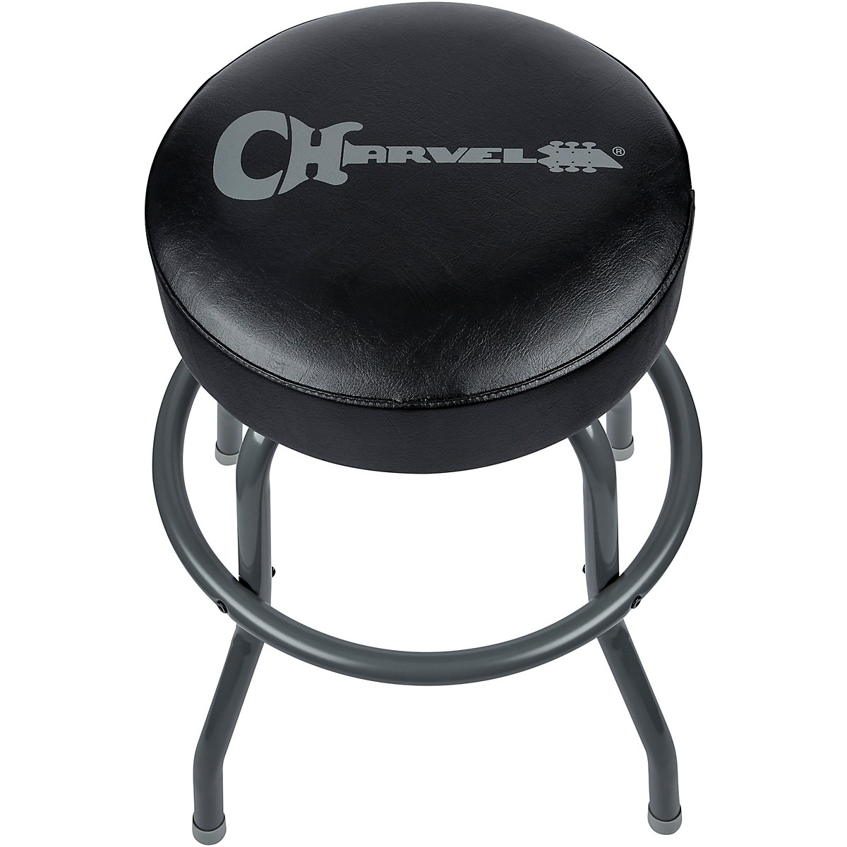 Charvel Black And Gray Bar Stool 24in