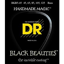 DR Strings Black Beauties Medium 5-String Bass Strings