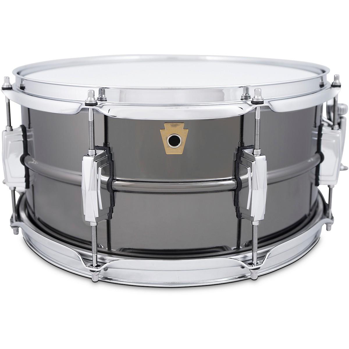 Ludwig Black Beauty 8-Lug Brass Snare Drum