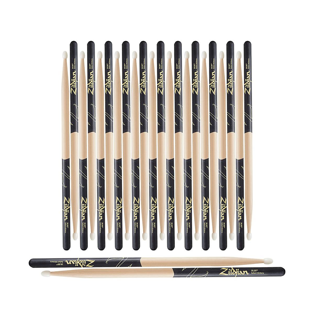 Zildjian Black DIP Drum Sticks 12-Pack