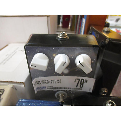 Metal Pedals Black Gravity Effect Pedal