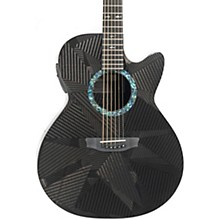 RainSong Black Ice Series BI-WS1000N2 Graphite Acoustic-Electric Guitar