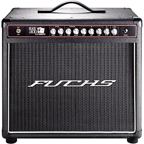 Fuchs Black Jack 21W Tube Guitar Combo Mini-Amp and 4-Button Artist Footswitch Kit