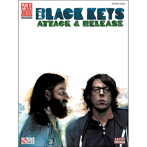 Cherry Lane Black Keys: Attack & Release Tab Book