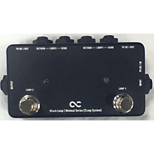 One Control Black Loop Pedal