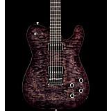 Fender Custom Shop Black Moon Telecaster HH Electric Guitar Masterbuilt by Ron Thorn Transparent Black