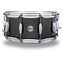 Gretsch Drums Black Nickel Over Steel Snare Drum
