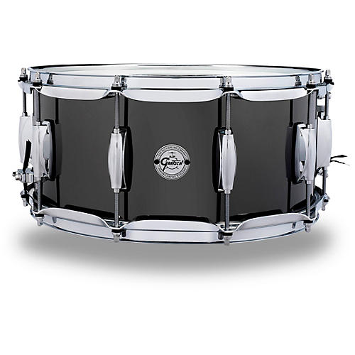 Gretsch Drums Black Nickel Over Steel Snare Drum