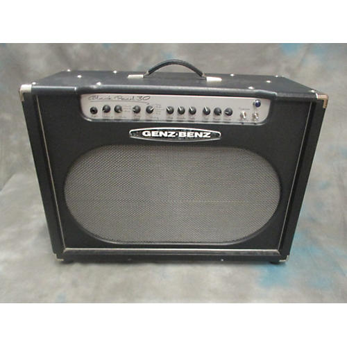 Used Genz Benz Black Pearl 30 2x12 Tube Guitar Combo Amp