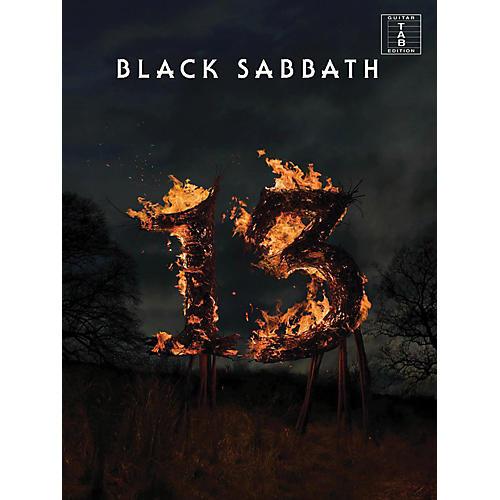 Music Sales Black Sabbath - 13 Guitar Tab Songbook