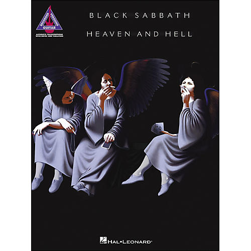 Hal Leonard Black Sabbath - Heaven And Hell Tab Book