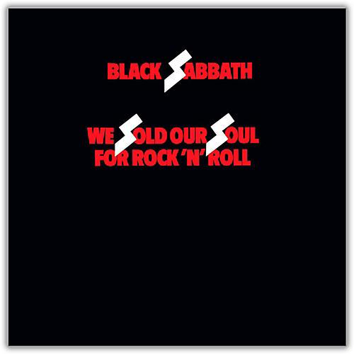 WEA Black Sabbath - We Sold Our Soul for Rock 'N' Roll Vinyl LP
