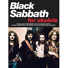 Music Sales Black Sabbath For Ukulele Songbook