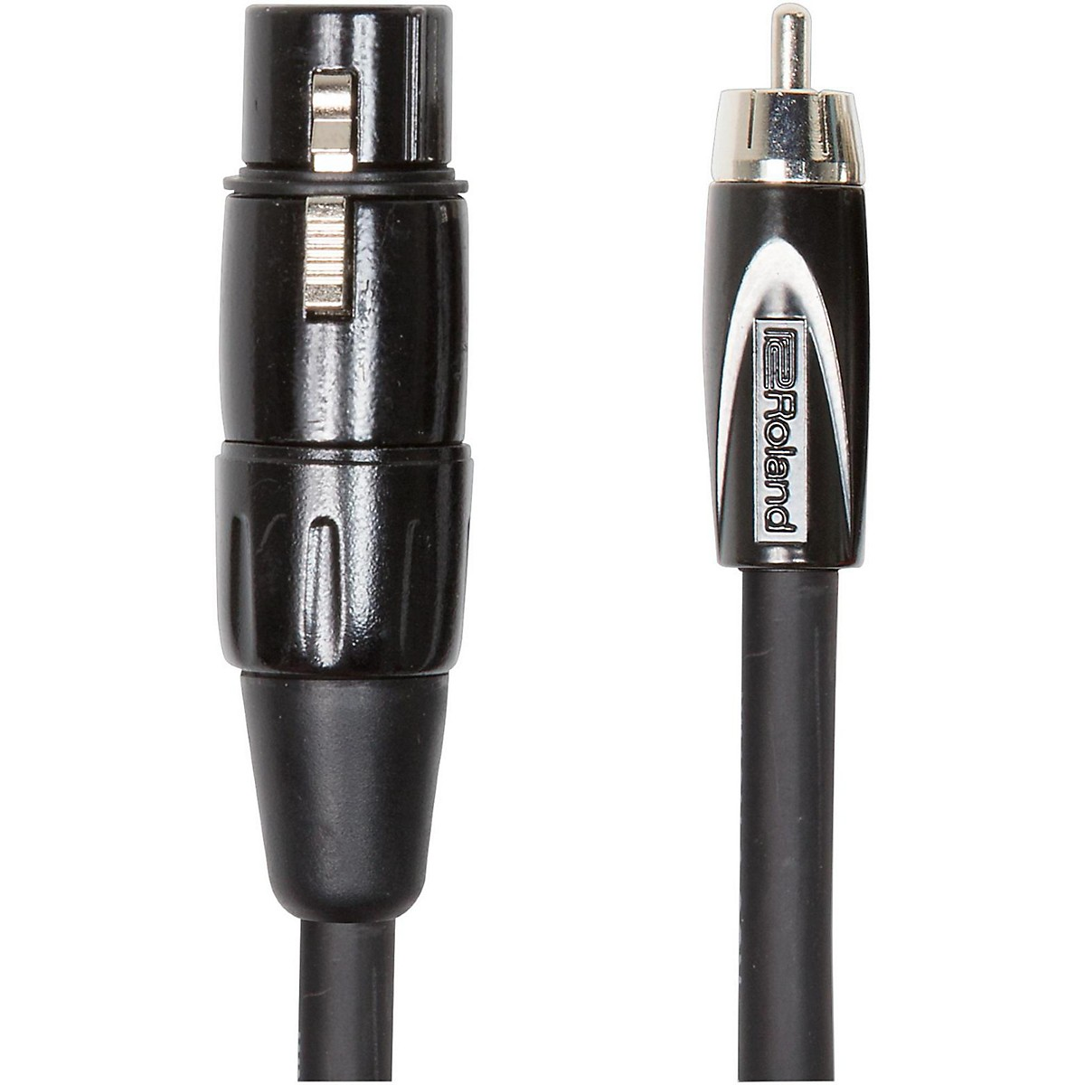 Roland Black Series XLR (Female) - RCA Interconnect Cable