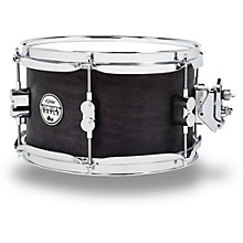 Black Wax Maple Snare Drum 10x6 Inch