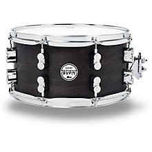 Black Wax Maple Snare Drum 13x7 Inch