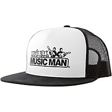 Ernie Ball Black & White Trucker Cap w/ Ernie Ball Logo