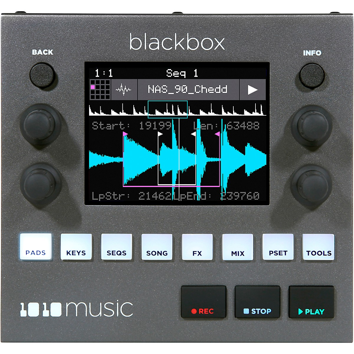 1010music Blackbox - Compact Sampling Studio