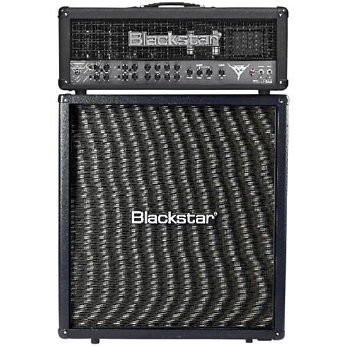 Blackstar Blackfire 200 Gus G Signature 200W Guitar Head with 412 240W 4x12 Straight Guitar Speaker Cabinet