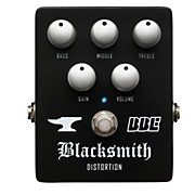 Blacksmith Distortion With 3-Band EQ Guitar Effects Pedal