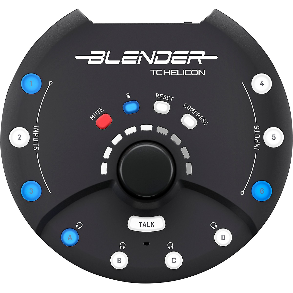 TC Helicon Blender Portable Stereo Mixer