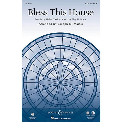 Shawnee Press Bless This House Studiotrax CD Arranged by Joseph M. Martin
