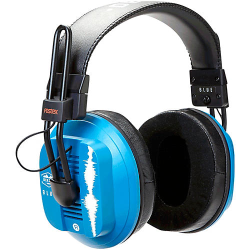 Dekoni Audio Blue - Fostex/Dekoni Audiophile HiFi Planar Magnetic Headphone