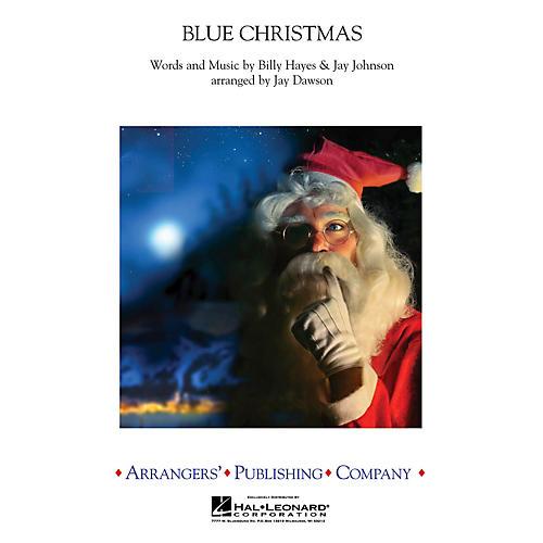 Arrangers Blue Christmas Concert Band by Elvis Presley Arranged by Jay Dawson